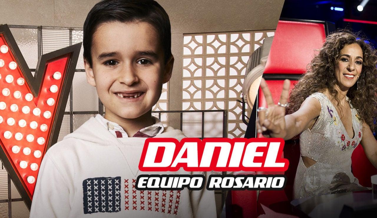 Daniel García, finalista del equipo de Rosario Flores en 'La Voz Kids'