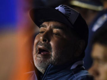 Diego Armando Maradona en los banquillos
