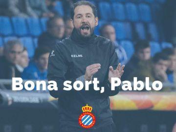 Pablo Machín deja de entrenar al Espanyol