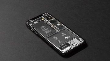 Batería del un teléfono móvil
