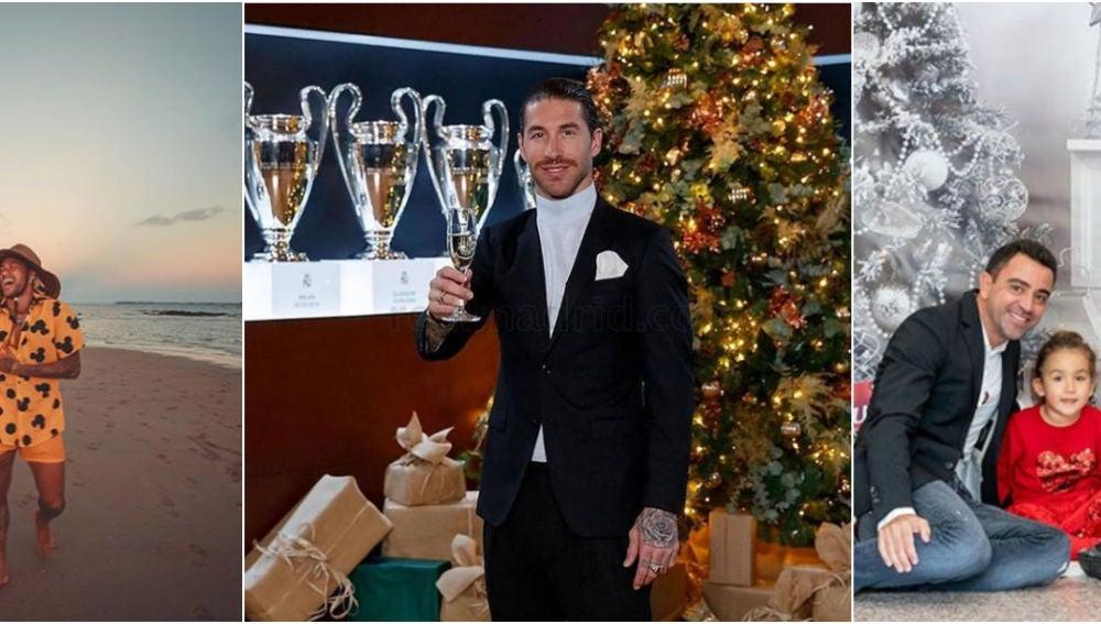 Los futbolistas aprovechan para descansar en este parón navideño