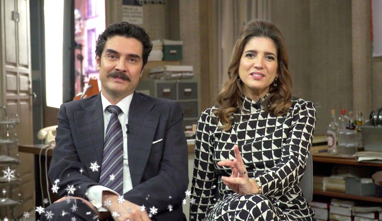 Los actores de 'Amar es para siempre' os desean una Feliz Navidad