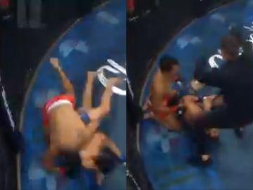 La caída que le costó el brazo a un luchador de la MMA