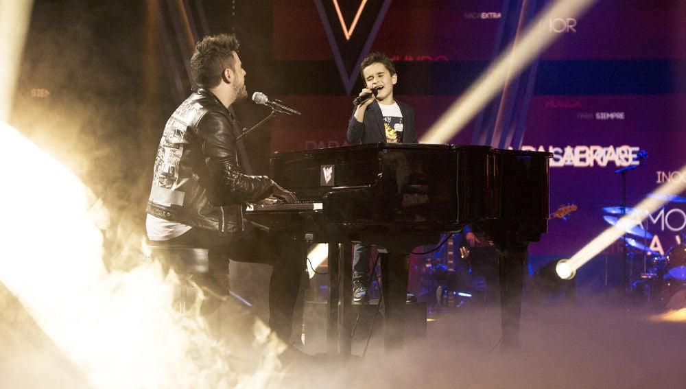 El dúo más esperado de 'La Voz Kids': Pablo López y Daniel García comparten escenario en la Gran Final