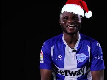 Wakaso y su particular felicitación navideña