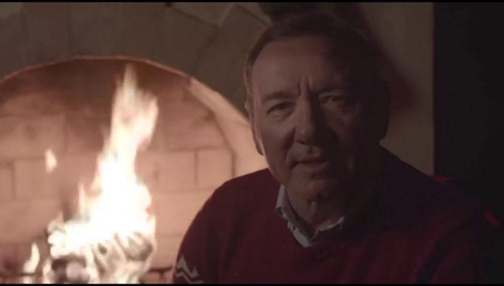 Misterioso mensaje de Kevin Spacy interpretando su personaje de 'House of Cards'