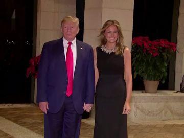Donald Trump pasa la Navidad junto a Melania en su residencia de Mar-A-Lago en Florida