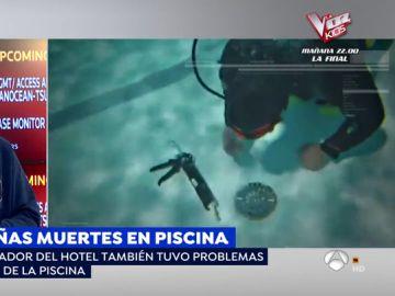 Extrañas muertes en una piscina.