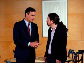 """laSexta Noticias 20:00 (09-01-20) El Gobierno asegura que """"solo han hablado con Unidas Podemos de sus ministerios"""""""