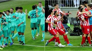 Real Madrid vs Atlético de Madrid, final de la Supercopa de España