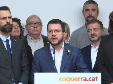 Pere Aragonès, vicepresidente de la Generalitat
