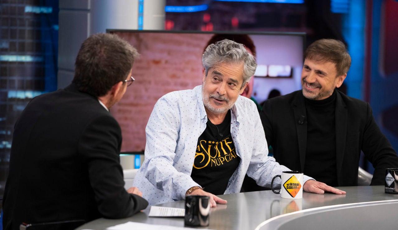 Carlos Iglesias cuenta en 'El Hormiguero 3.0' sus anécdotas como director de cine