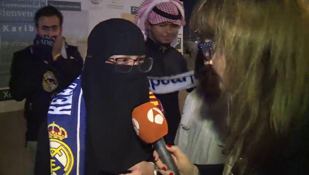 """Así vivieron las mujeres saudíes la Supercopa española de Arabia: """"Es mi primera vez"""""""