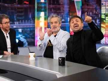 Revive la entrevista al completo de Carlos Iglesias y José Mota en 'El Hormiguero 3.0'