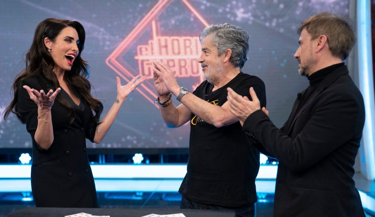 Pilar Rubio se estrena por todo lo alto como maga en 'El Hormiguero 3.0'