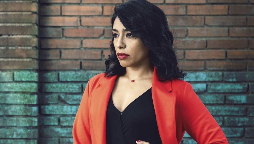 Adriana Paz es Angelita en 'Perdida'