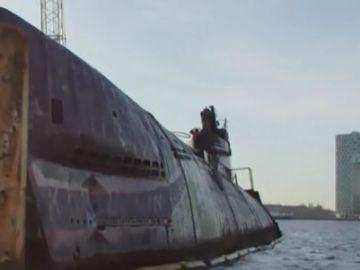 Retiran un submarino fabricado en 1956 en Holanda