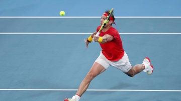 Rafa Nadal en la Copa ATP