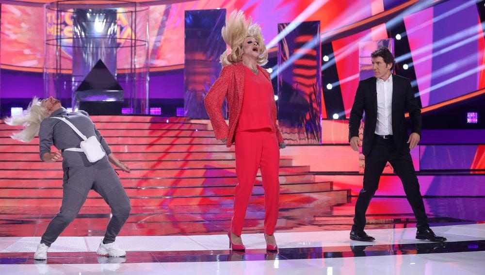 Anabel Alonso y Mario Vaquerizo, enfrentados en 'Tu Carrà me suena'