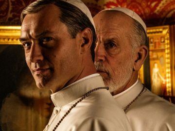 Jude Law y John Malkovich