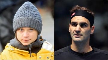 Greta Thunberg contra Federer