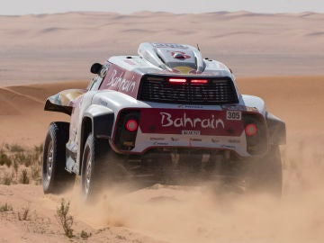 Carlos Sainz durante la sexta etapa del Rally Dakar