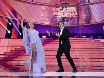 Cristina Ramos demuestra su potencia vocal cantando a capela en 'Tu cara me suena'