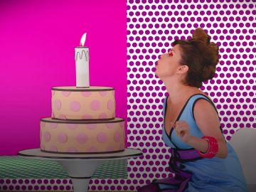 La divertida presentación de Cristina Ramos en 'Tu cara me suena' con una petición al pulsador