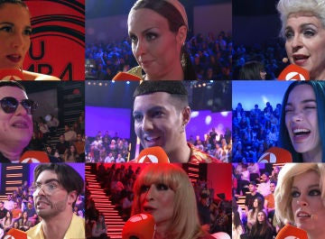 Las primeras impresiones de los concursantes ante su debut en la octava edición de 'Tu cara me suena'