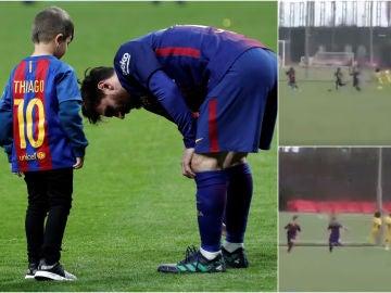 El golazo de Thiago Messi