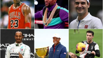 Los deportistas más ricos de la historia