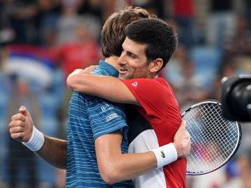 Serbia pasa a la final de la ATP Cup