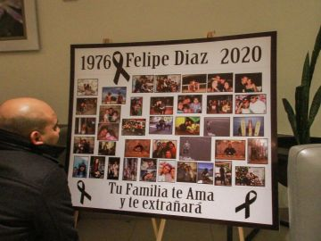 Familiares y amigos asisten a funerales de chef español asesinado en México