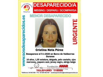 Desaparecida en Ourense