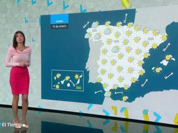 La lluvia no da tregua en el norte y habrá heladas en amplias zonas del interior