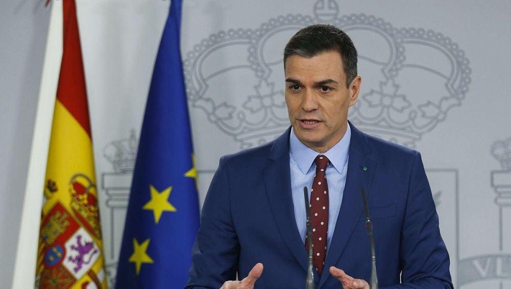Pedro Sánchez, en Moncloa