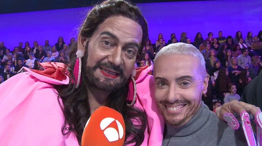 Anabel Alonso y José Corbacho lanzan un mensaje a los concursantes de 'Tu cara me suena'