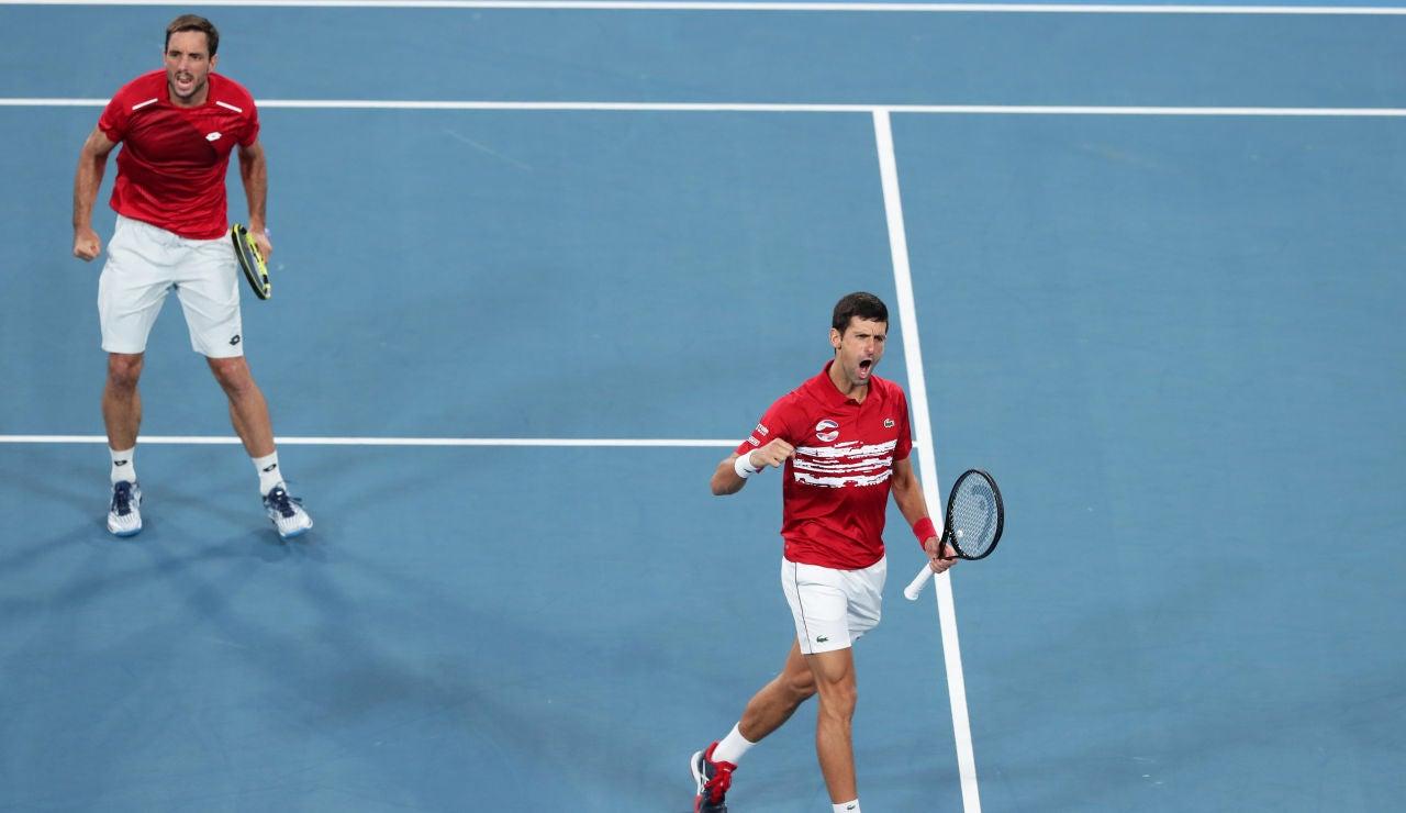 Serbia conquista la ATP Cup