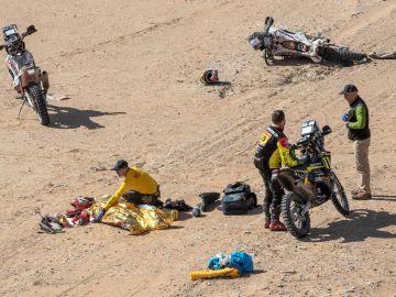 Marc Coma ocultó a Fernando Alonso la muerte de Paulo Gonçalves tras pasar muy cerca del lugar del accidente