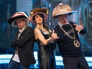 Un rap improvisado en 'El Hormiguero 3.0' con las nuevas tendencias de moda de Pilar Rubio
