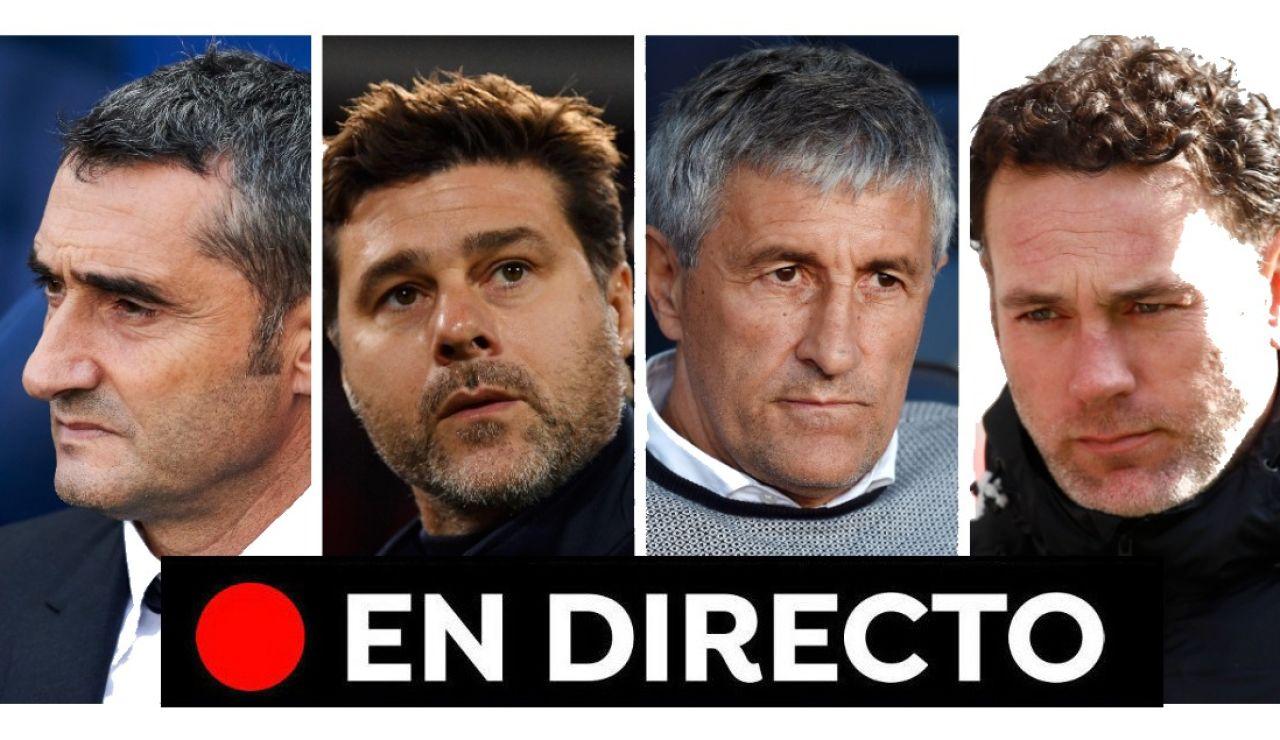 Posible destitución de Valverde como entrenador del Barcelona: Última hora en directo