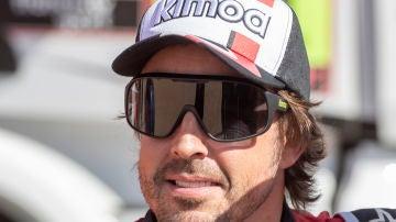 Fernando Alonso, tras su segundo puesto en la octava etapa del Dakar 2020