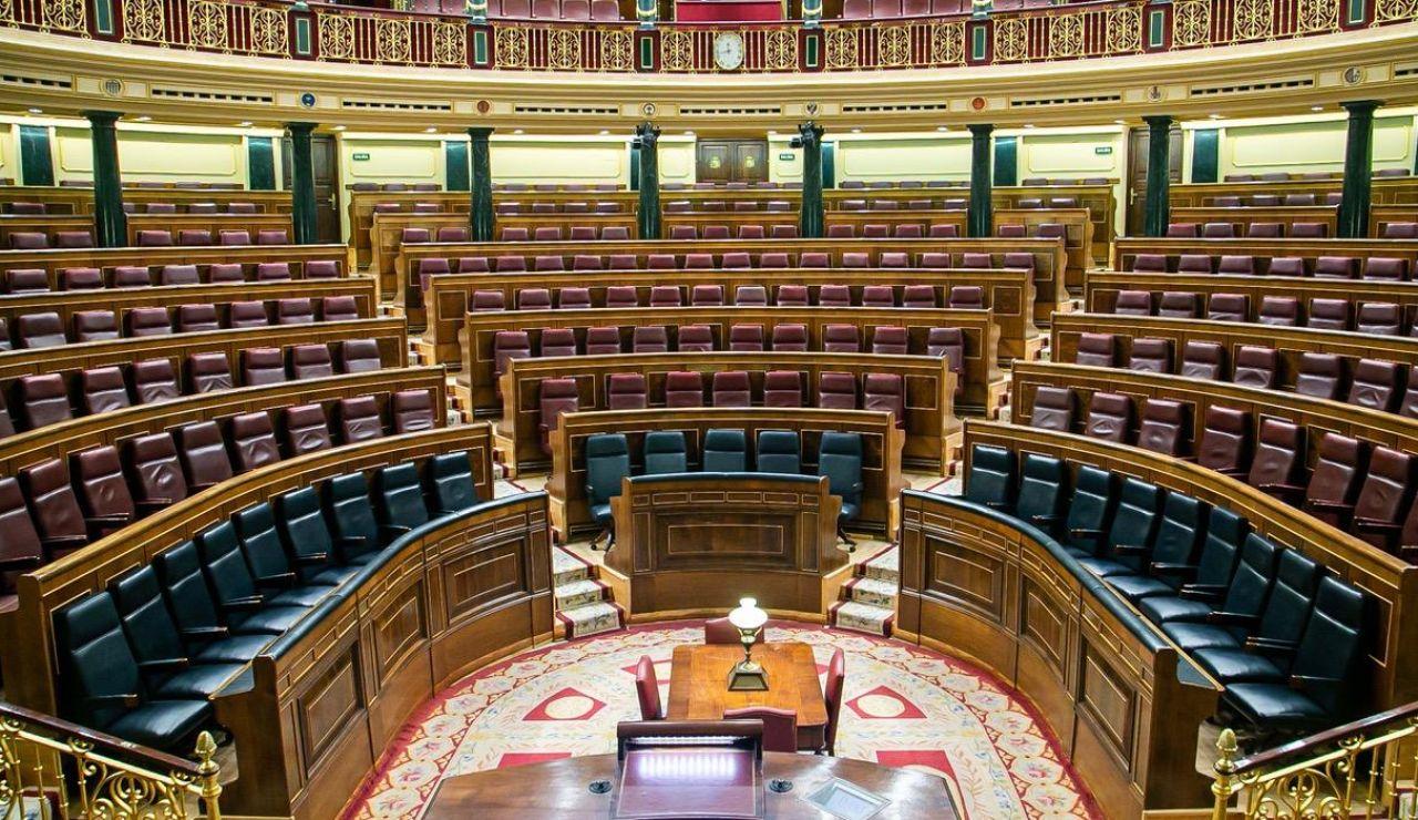 El banco azul del Congreso se adapta para acoger a los 23 miembros del Gobierno