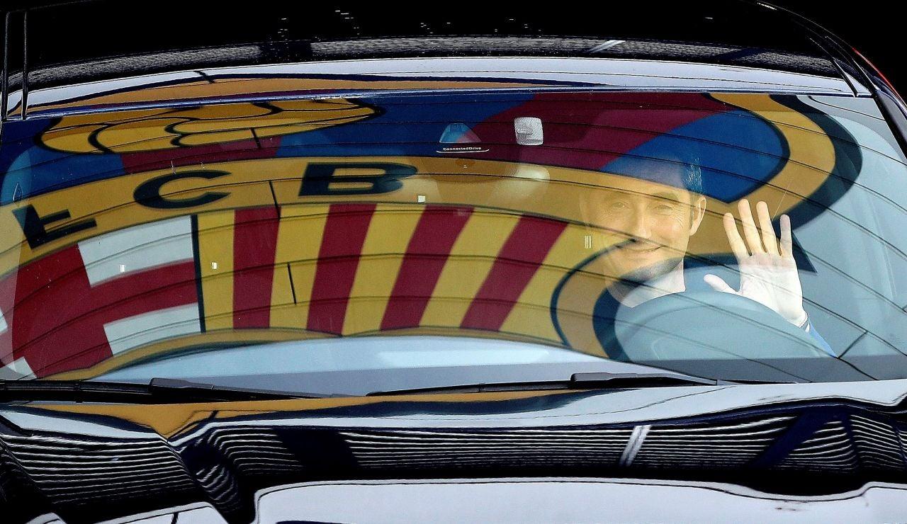 El Barça destituye a Ernesto Valverde