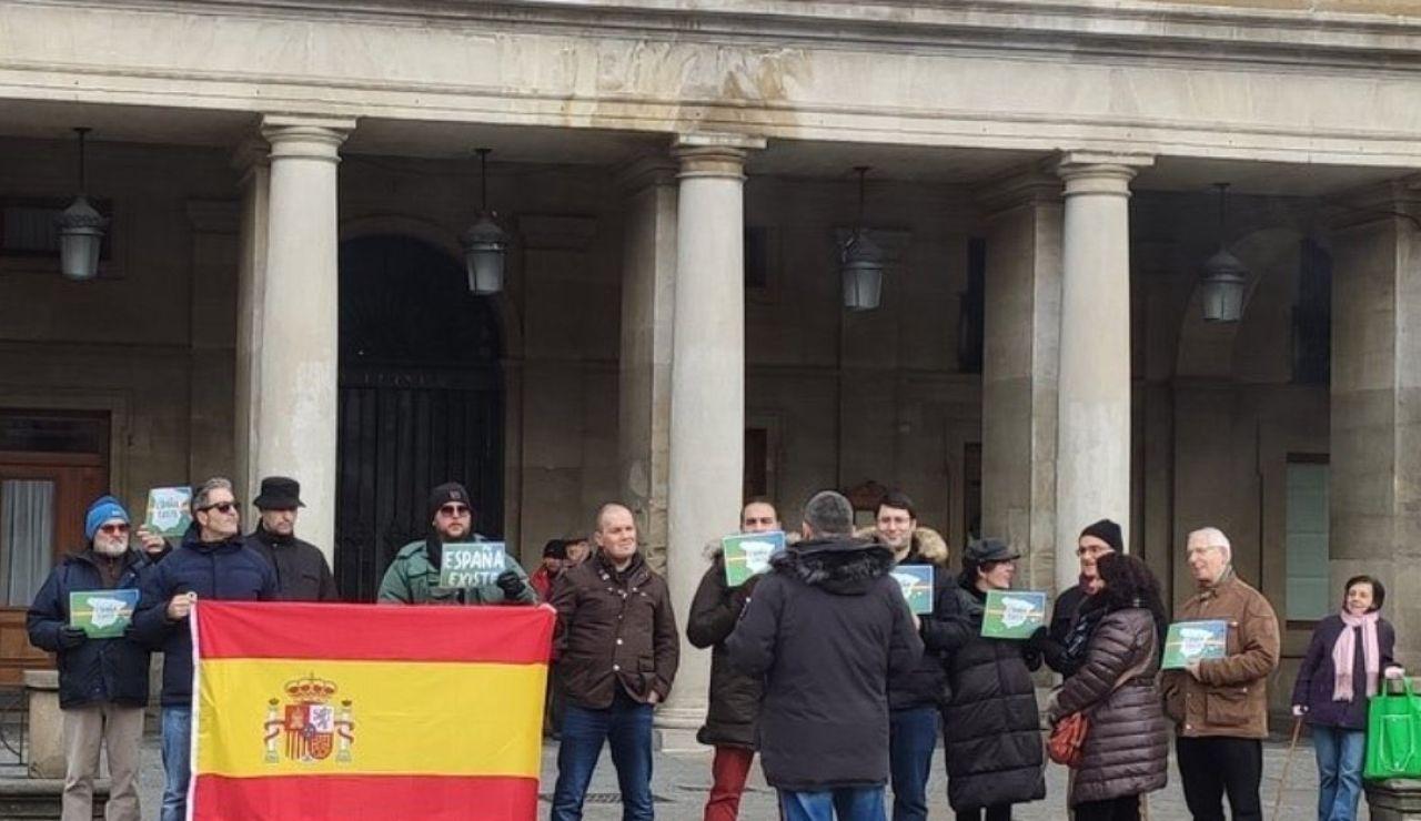 Manifestación de Vox en Vitoria