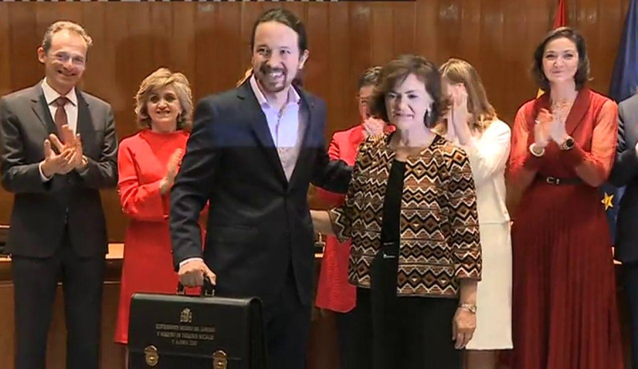 """Pablo Iglesias: """"Trabajaré para que sea la década del constitucionalismo democrático"""""""