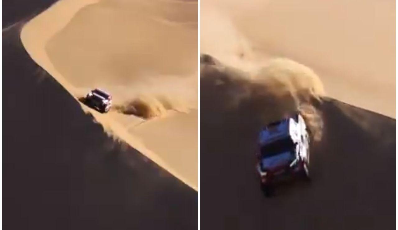 """El Rally Dakar alucina con Fernando Alonso: """"Todo un maestro de las dunas"""""""