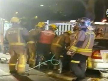 Accidente con varios heridos en Sevilla