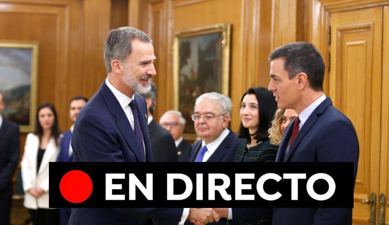 Los nuevos ministros del Gobierno de Pedro Sánchez toman posesión | Última hora, en directo