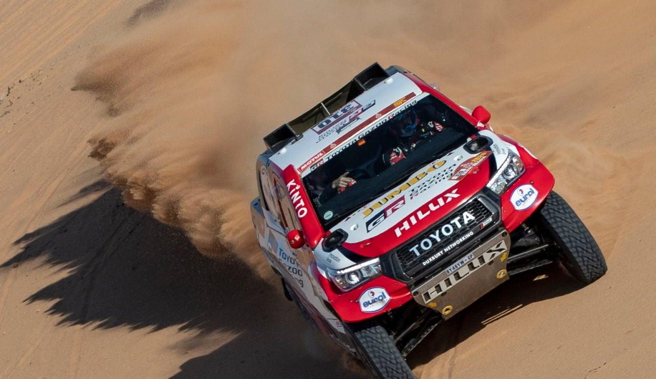 Rally Dakar 2020: Fernando Alonso y Marc Coma, durante el Dakar 2020